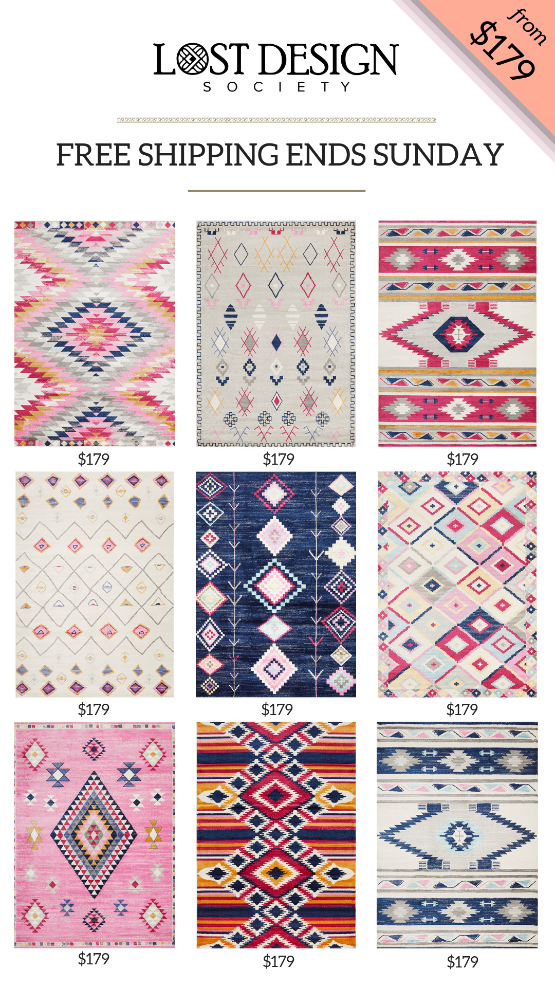 Rugs Free Shipping Ends Midnight Sunday 10th Feb Benefits