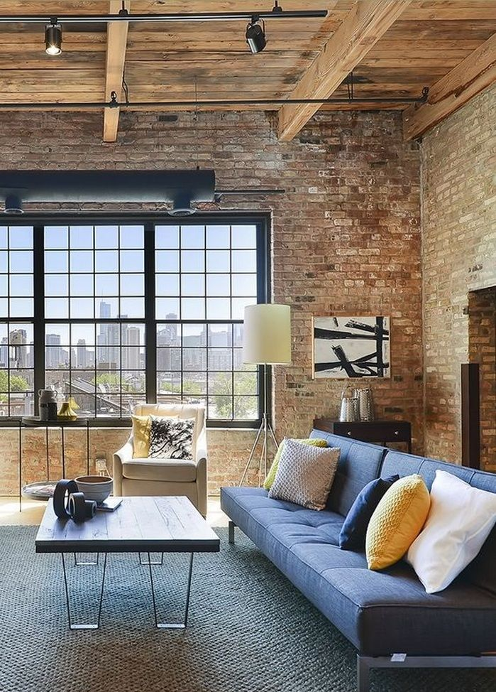 Amazing 50+ Amazing Brick Wall Interior Living Room Ideas_50 Pictures