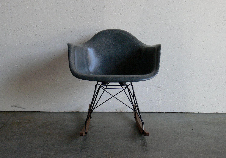black Eames rocker.