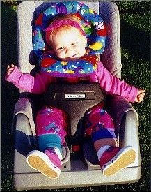Fisher Price Seat Early 90s Girl Baby Equipment Car Seats