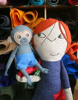 Pippi Longstocking mmmcrafts: hello, Mr. Nilsson