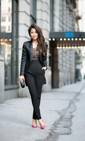799c38f2e Look Blazer + Calça Cintura Alta | Fashion Hall | Wendy's lookbook ...