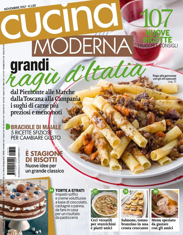 Cucina moderna novembre2017 lidia giornali di cucina pinterest cucina cooking and magazine - Cucina moderna magazine ...