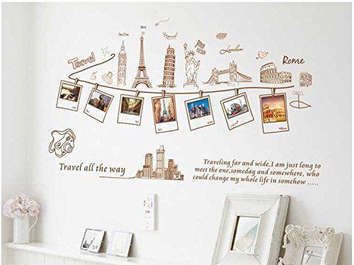Someday We Will Meet Paris Eiffel Tower Vinyl Decal Wall Decor Sticker Letters
