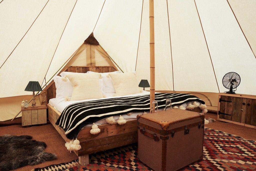 Giving Your Bell Tent Life Soho farmhouse, Soho