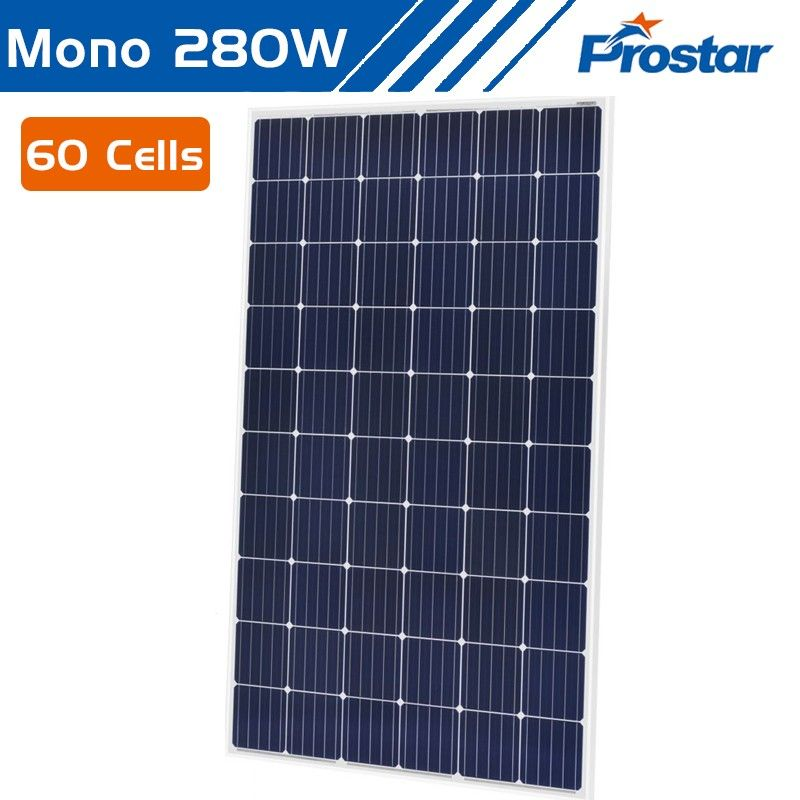 Prostar 5bb 280 Watt Monocrystalline Solar Panel Manufacturers In China