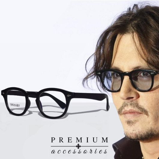 8ef9d0e060 Mens Glasses Johnny Depp Style Vintage  30.00. Would I wear these   Definitely.