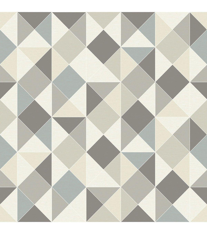WallPops NuWallpaper Peel & Stick Wallpaper Geometrics ...