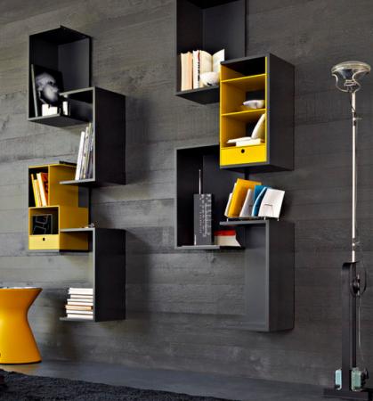 Repisas modulares modernas di pinterest modulares for Minar muebles