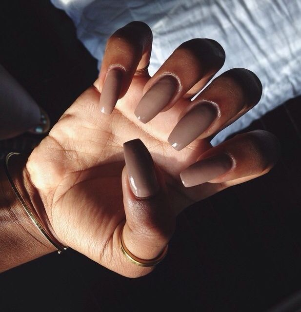 Coffee Colored Nails Gorgeous Nails Nails Pretty Nails