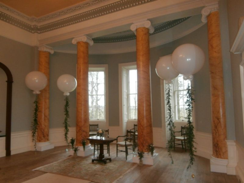 Wedderburn castle Duns Wedding 3 Ft balloons for wedding or any event and celebration