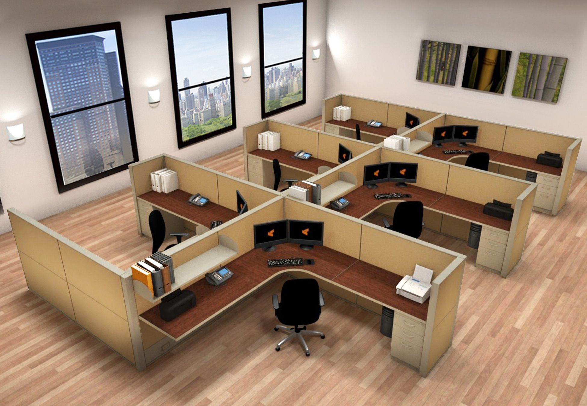 Image Result For 8x8 Workstations Furniture Workstation Home Decor