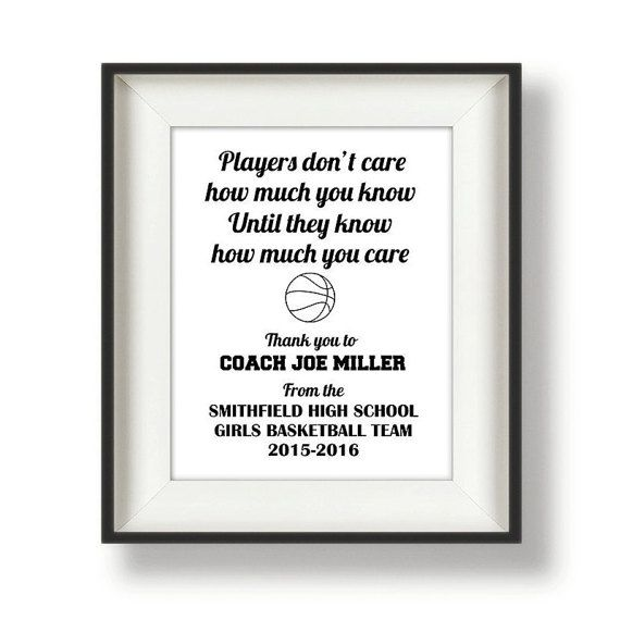 Coach Gifts Thank You Coach Coach Quotes By Bucketlistshop  Ideas