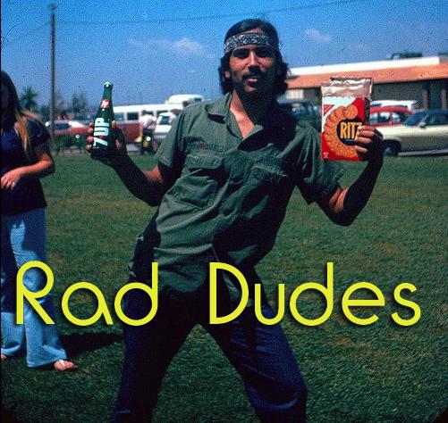 Rad Dude Dicky Willy on Skateboard - PrezzyShop.com