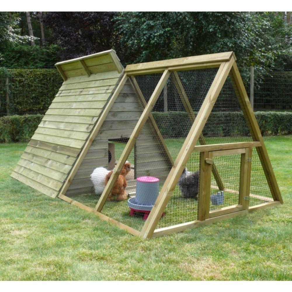 poulailler touthankamon en bois fsc 320x140x130 cm. Black Bedroom Furniture Sets. Home Design Ideas