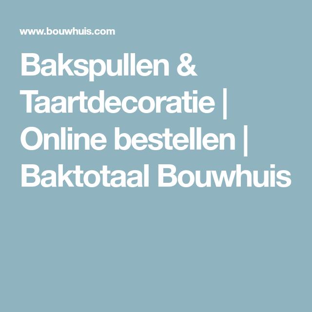 bakspullen online