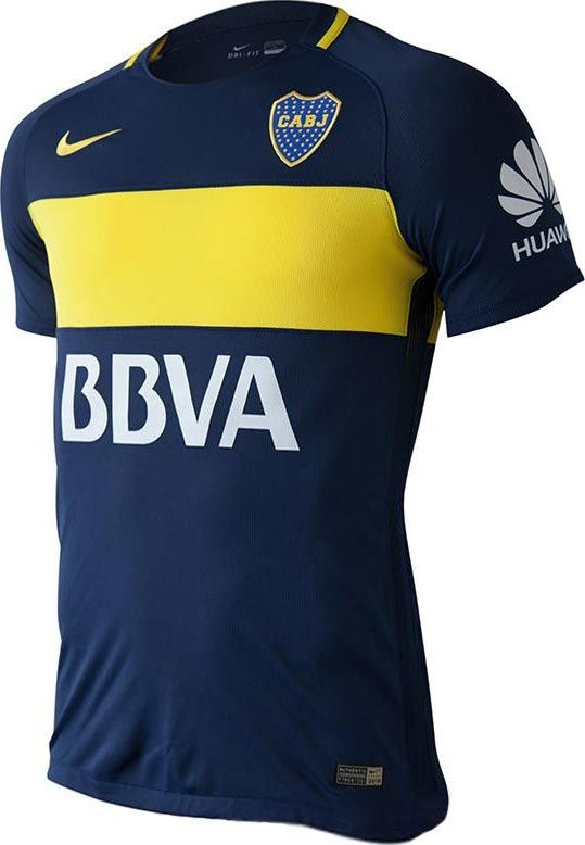 7602885346607 The new Boca Juniors 16-17 home and away kit once again introduce  interesting and unique designs for the Argentine club, made by Nike.