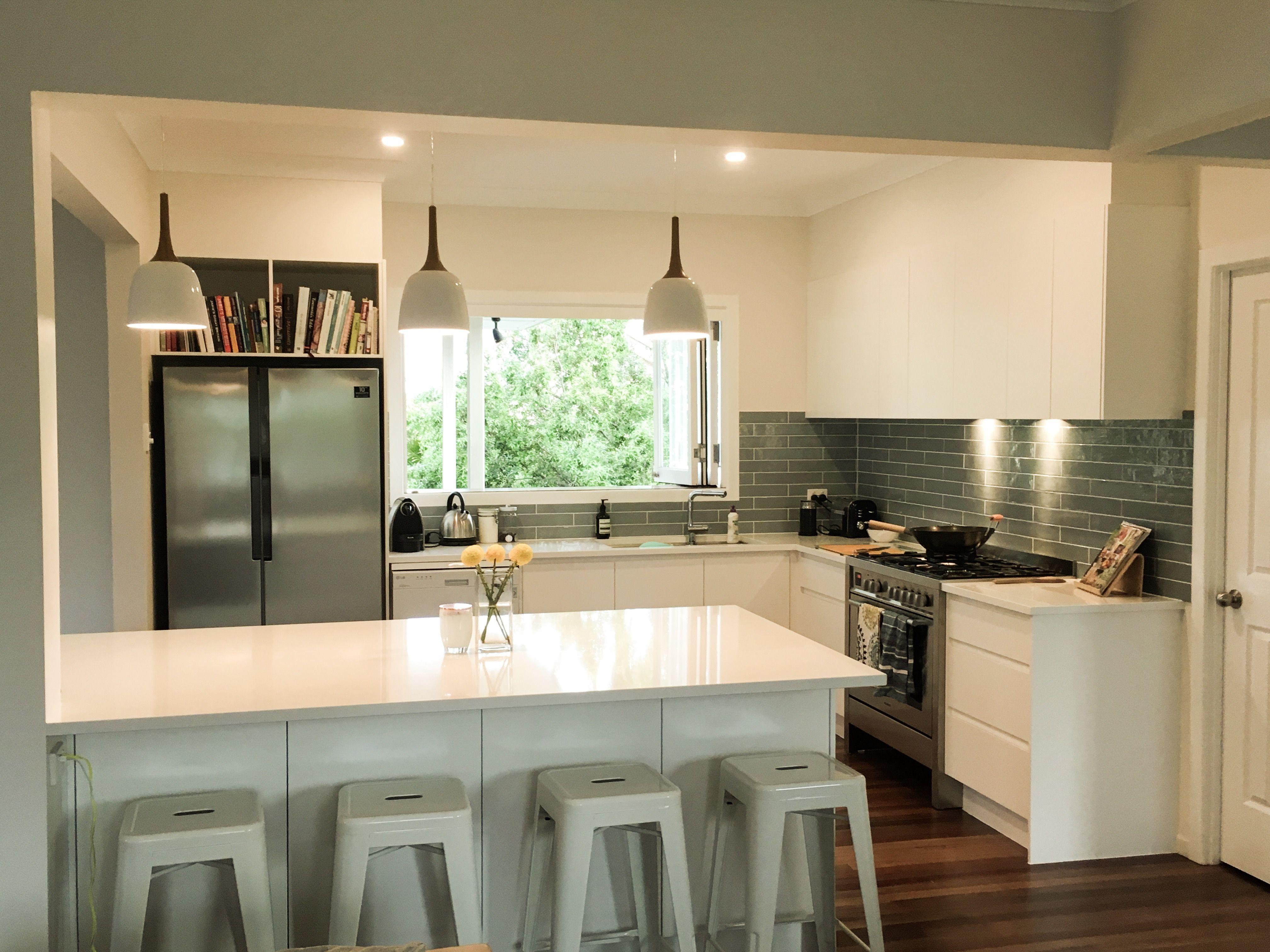 Queenslander Homes Brisbane Kitchen Renovation Open Plan