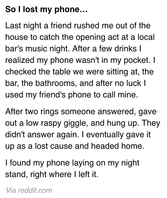 scary night essay