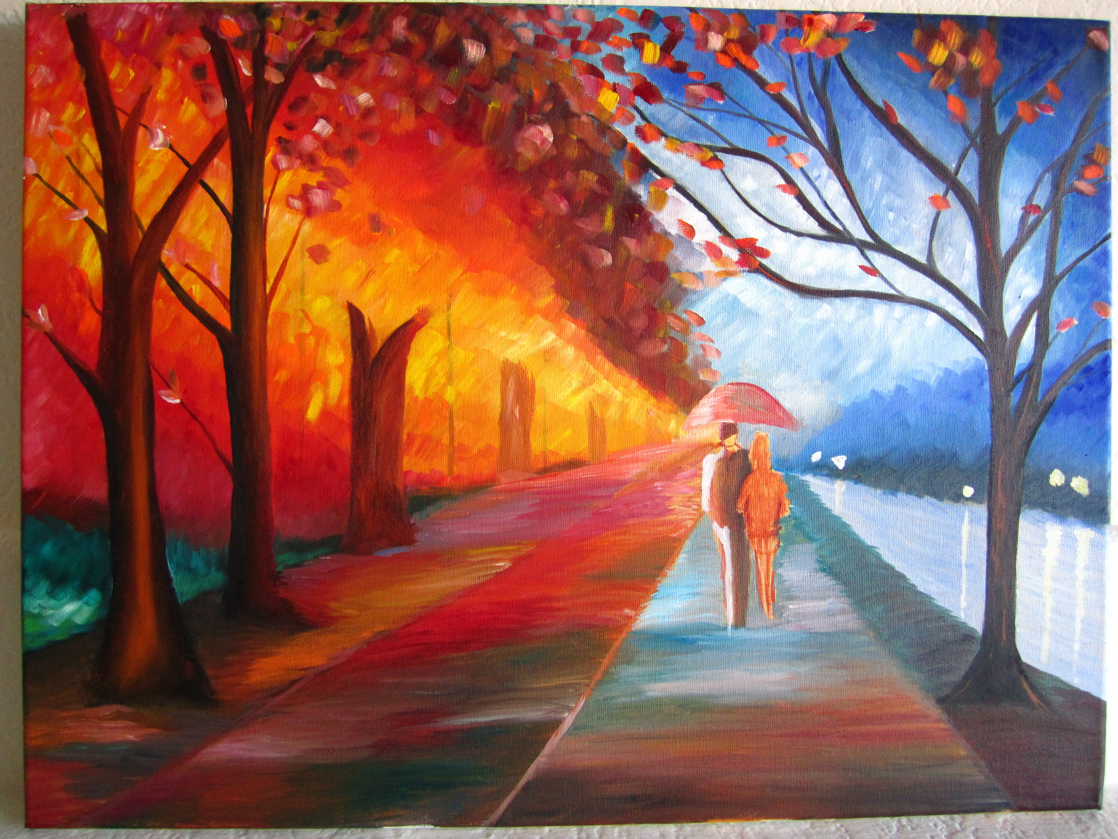 Living In My Oil Painting Easy Nature Paintings Nature Paintings Most Beautiful Paintings
