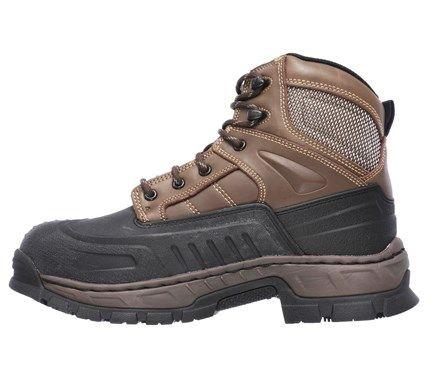 ffbc52f06ba Men's Vinten Memory Foam Waterproof Steel Toe Lace Up Boot ...