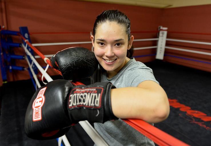Karen Areyzaga Of Medford Can Take You Out Boxing Sports Karen Boxer Boston Sports