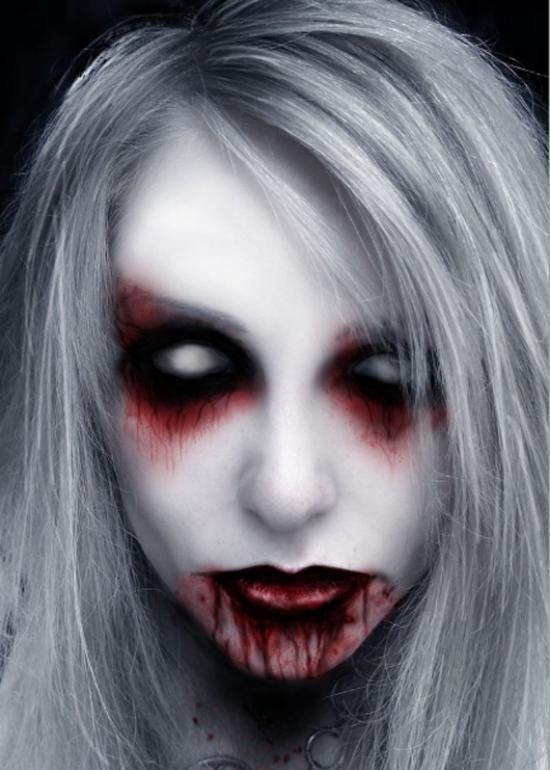Scary Halloween Makeup To Look Horrifyingly Real   Vampire girls ...