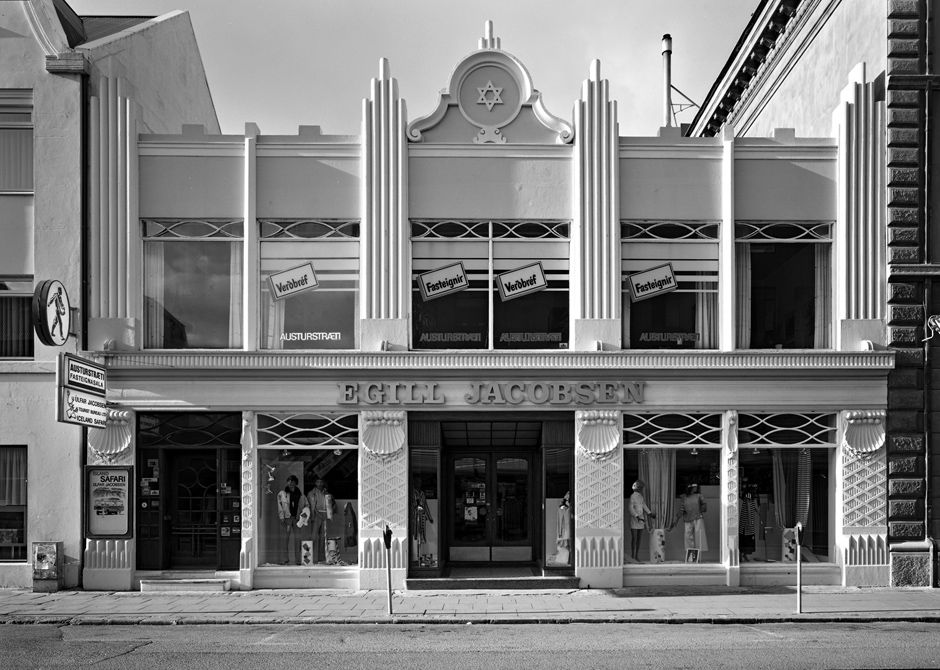 And classic art deco in iceland store of egill for Architecture 1920
