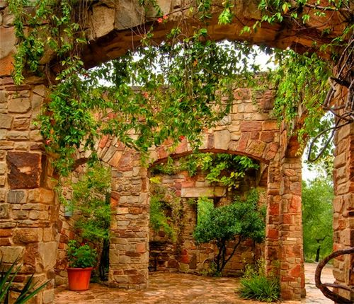 Lady Bird Johnson Wildflower Center As Part Of Our Rainwater Harvesting System The Roof