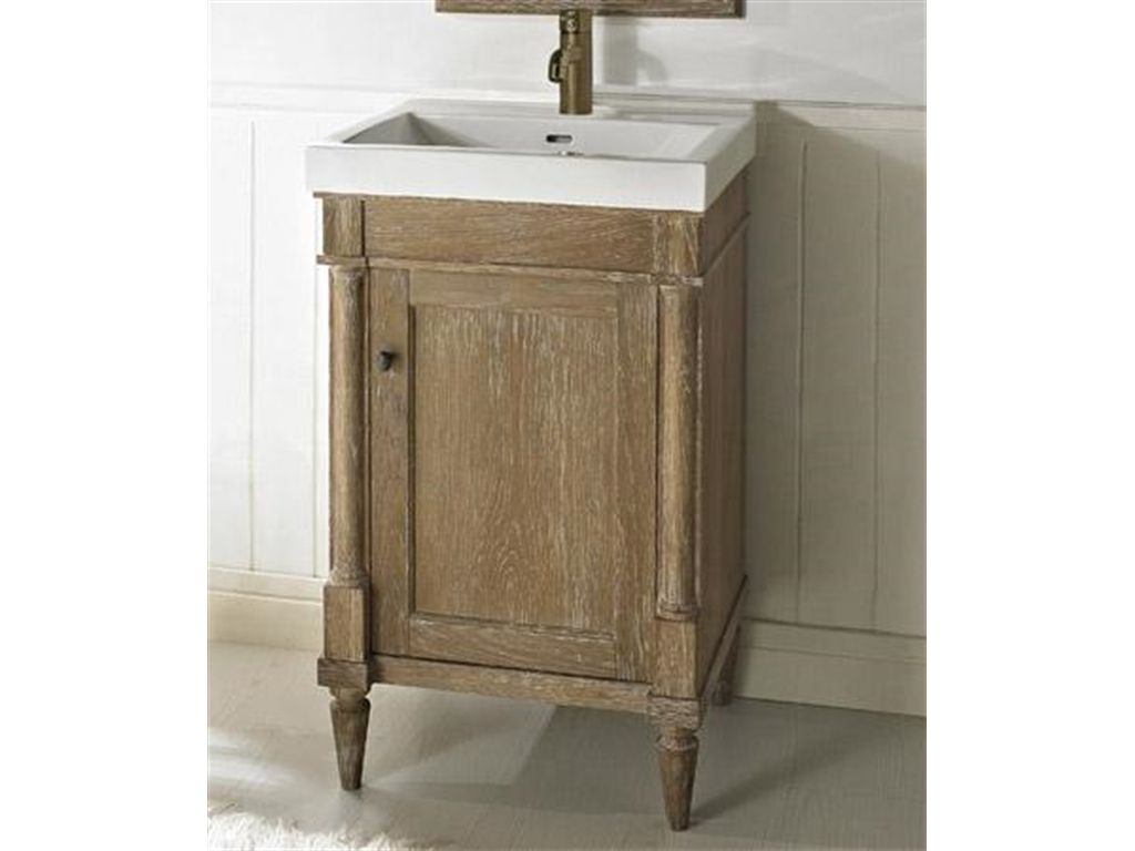 Bathroom Rustic Chic 21 Inch Vanity And Sink Set 142 V21 At Osmond