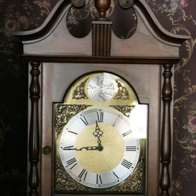 Grandfather clocks can last for years if repaired and properly