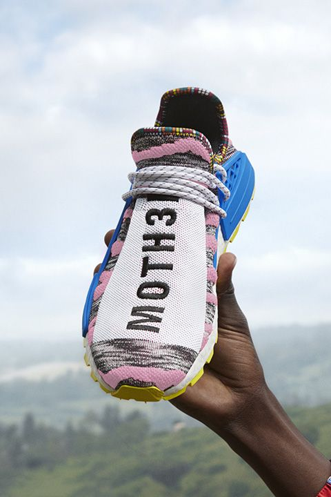 "518e1cf97 Pharrell Williams x adidas Originals NMD Hu ""Solar""  Where to Buy ..."