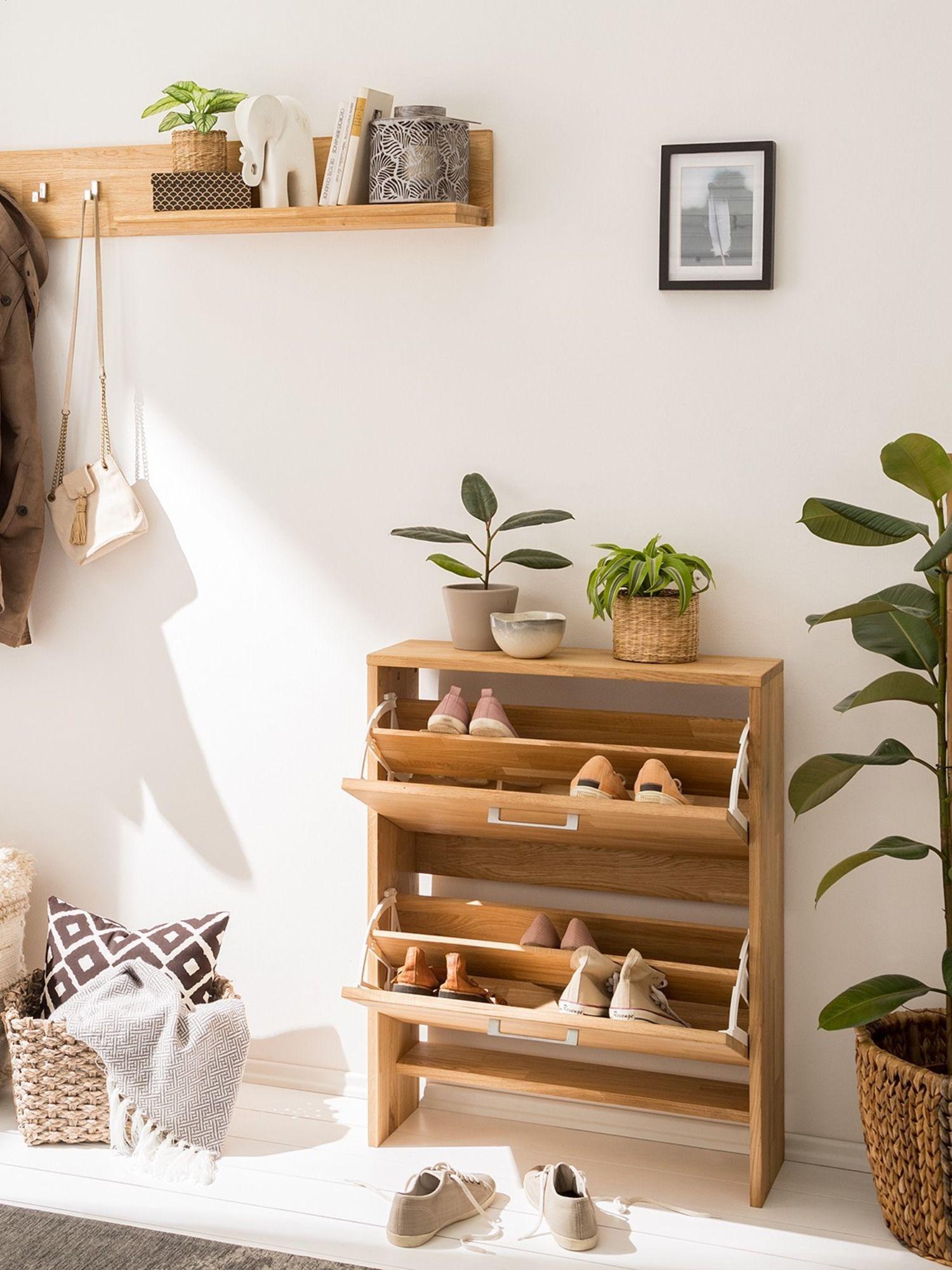 Schuhkipper Fawood Kaufen Home24 Echtholz Möbel Naturfarben Natural Living