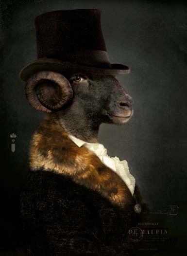 Ibride les dandys les secretaires particuliers mlle de maupin anthropomorphic designs - Les dandys ibride ...