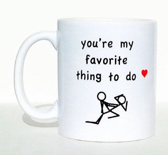 giving this mug to my partner