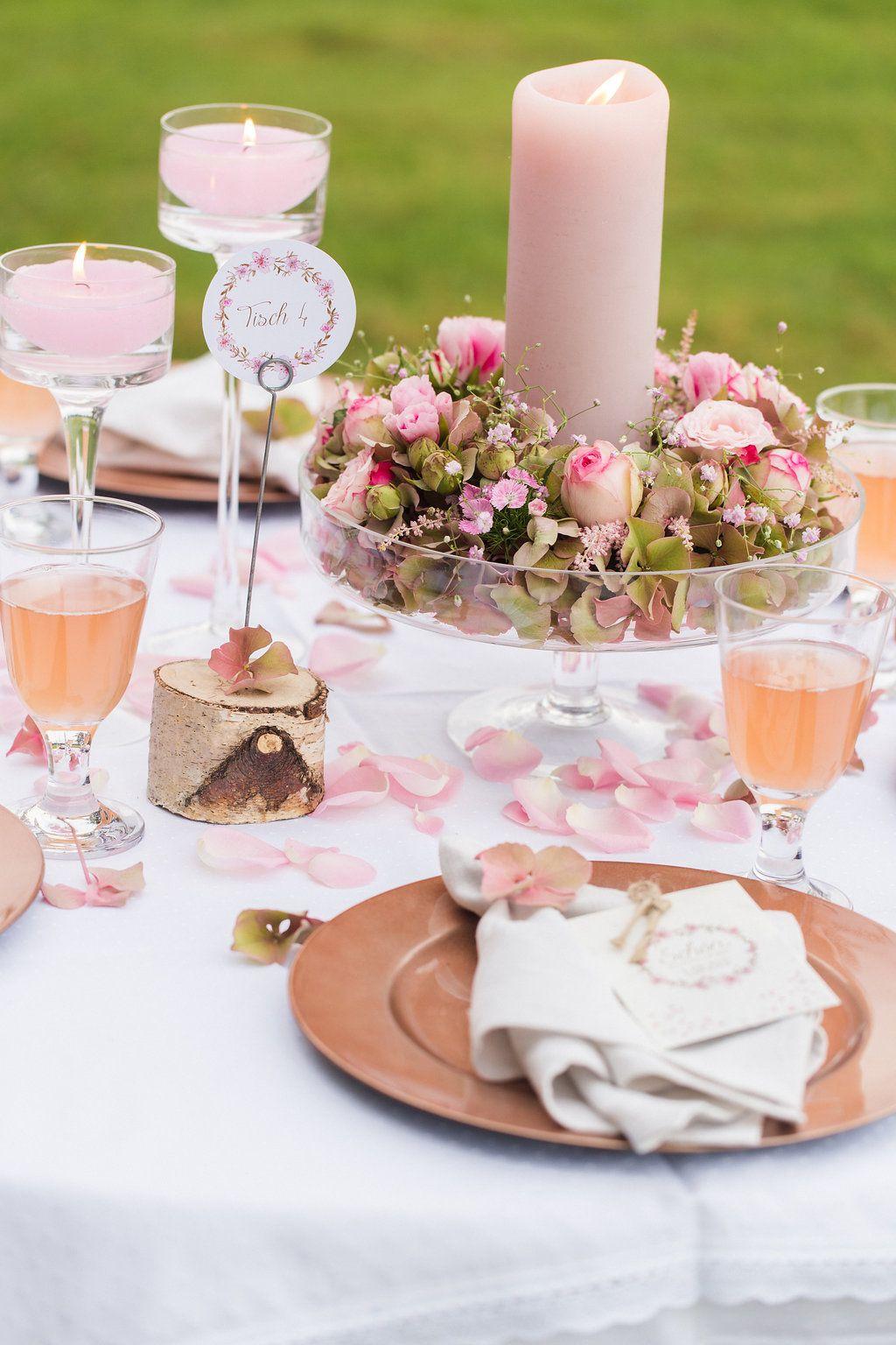 10 Ideen fr eure Tischdekoration zur Hochzeit  Teil 2