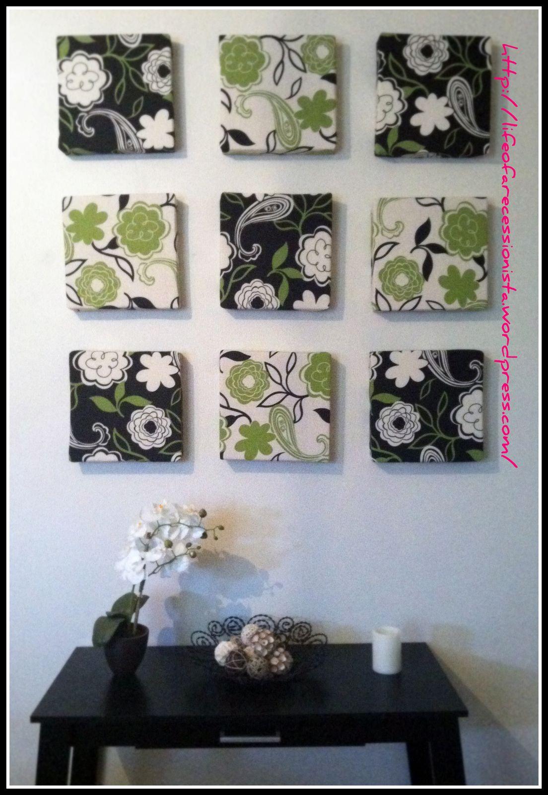 Easy diy wall art pinterest diy wall art diy wall and walls