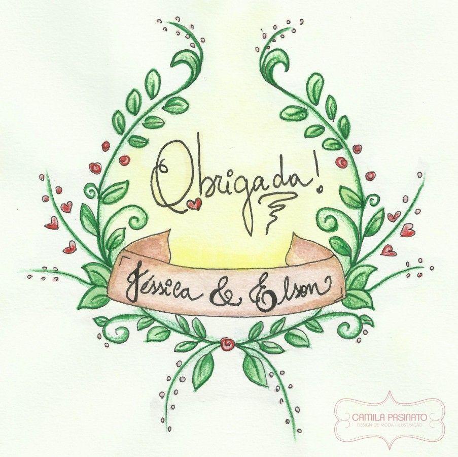 Camila Pasinato » Design de Moda   Ilustração » Casamento