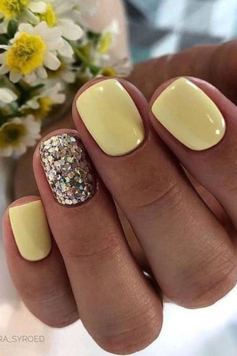 50 Wonderful Summer Nail Colors Of 2020 Summer Gel Nails Short Gel Nails Popular Nails