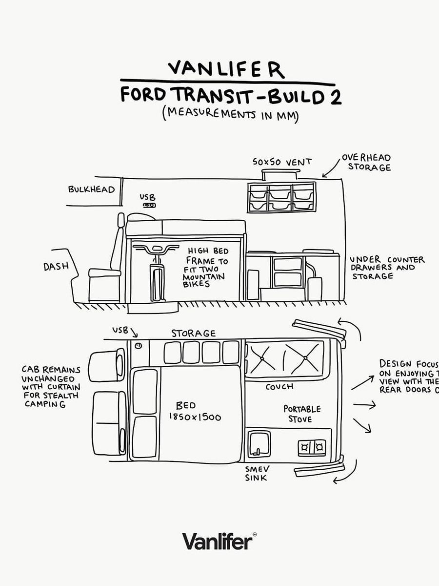 Ford Transit Floor Plan You'll Love