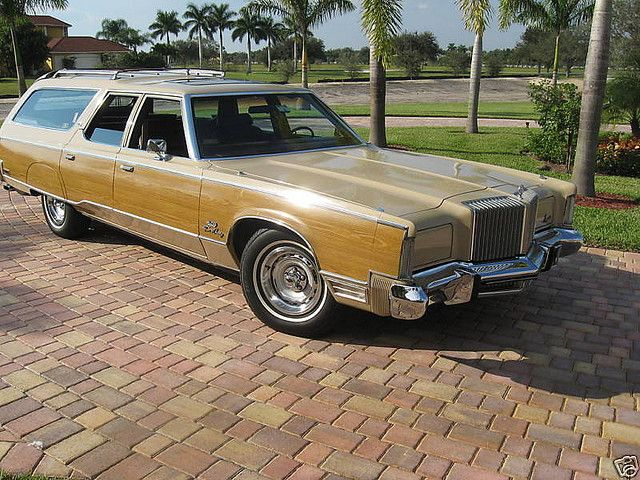 A 1977 Chrysler Town And Country Wagon Customized Into An