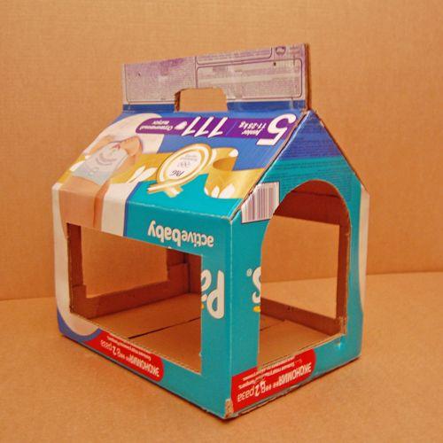 Как сделать кормушку для птиц из коробок фото 328