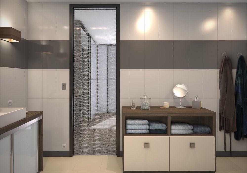 Dressing Porte Placard SOGAL Modèle De Portes Coulissantes - Porte placard coulissante avec porte intérieure vitrée coulissante