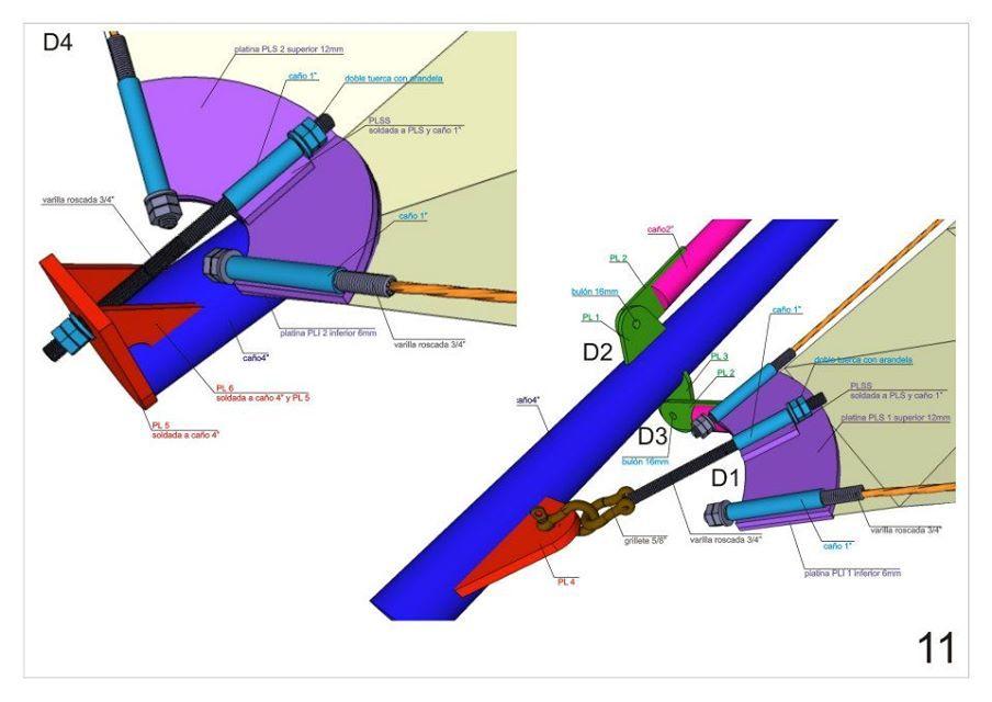Detalle 2 Membrane Details Pinterest Struktur