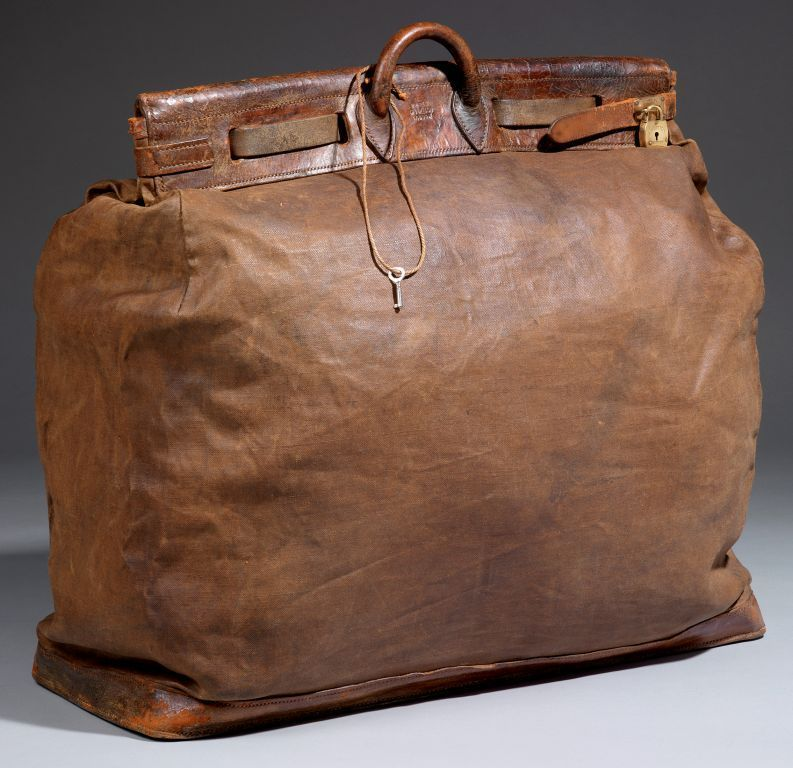 Early Steamer Bag By Louis Vuitton From A Unique Collection Of Antique And