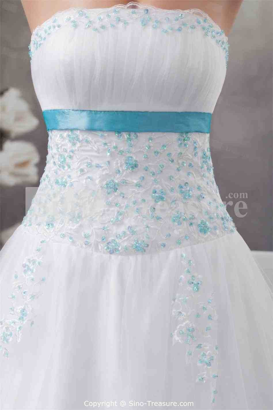 Top new post royal blue and white wedding dresses visit