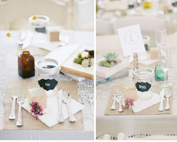 Wedding Jam Jars Wedding Decoration Inspiration Lace Table Cool Wedding Table Decorations Jam Jars