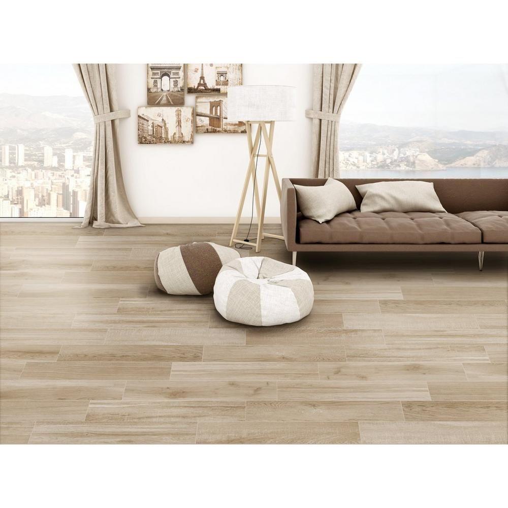 Sierra Beige Wood Plank Porcelain Tile Porcelain Tile Wood