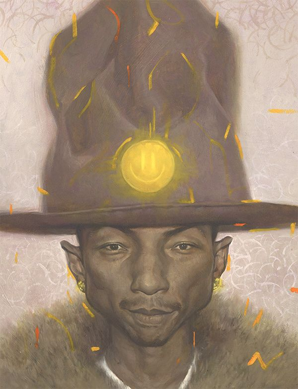 Pharrell on Behance
