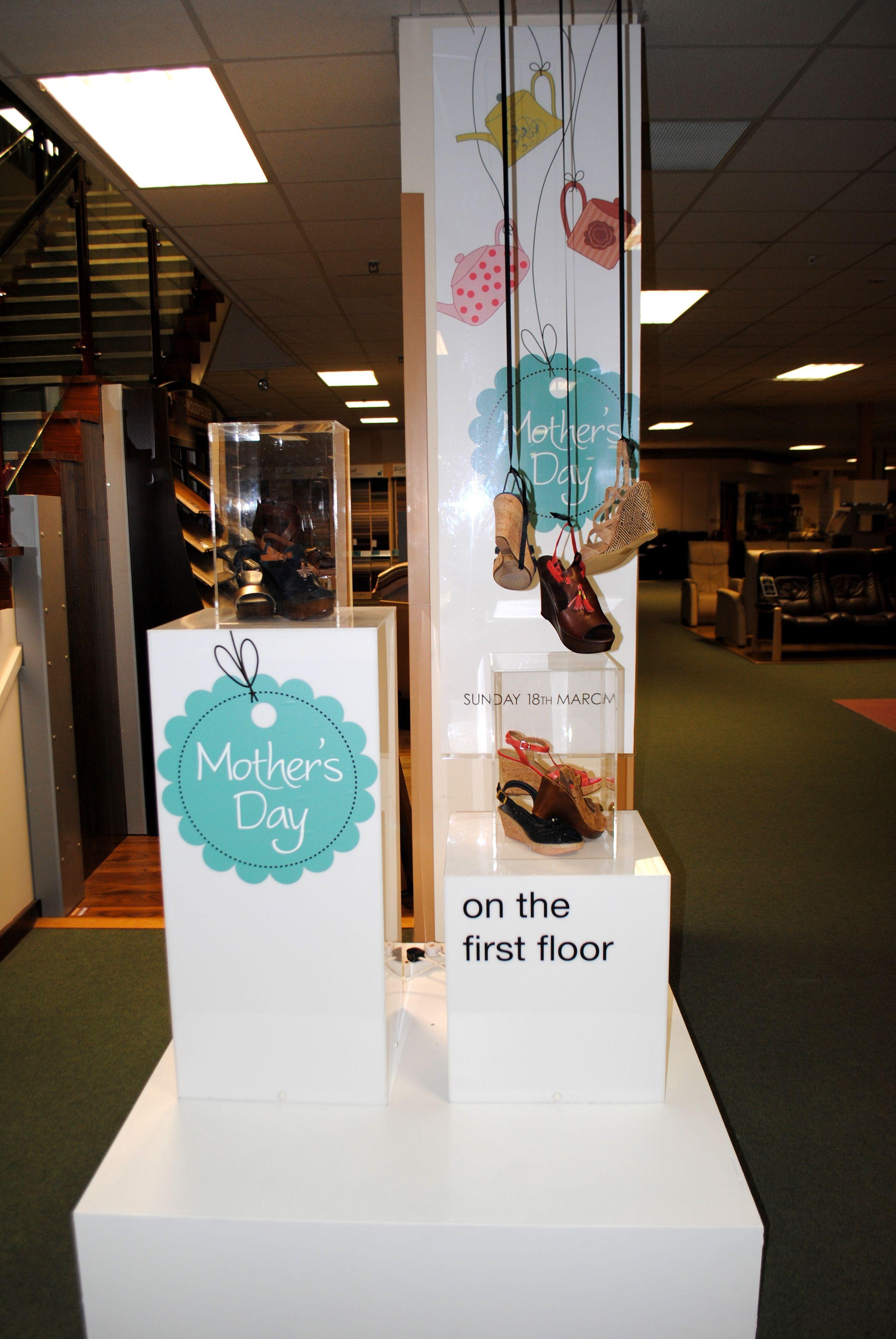 Display Visual Merchandising Mothers Day Display 2012